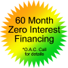 60 month zero -interest financing