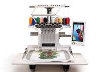 10-needle Embroidery Machine